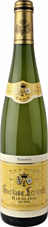 Riesling Reserve, Alsace АОС, Gustave Lorentz, blanc demi sec, 2007