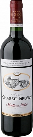 Château Chasse-Spleen, Cru Bourgeois Exceptionnel, Moulis en Médoc АОС, rouge sec